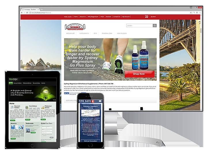 Responsive website examples